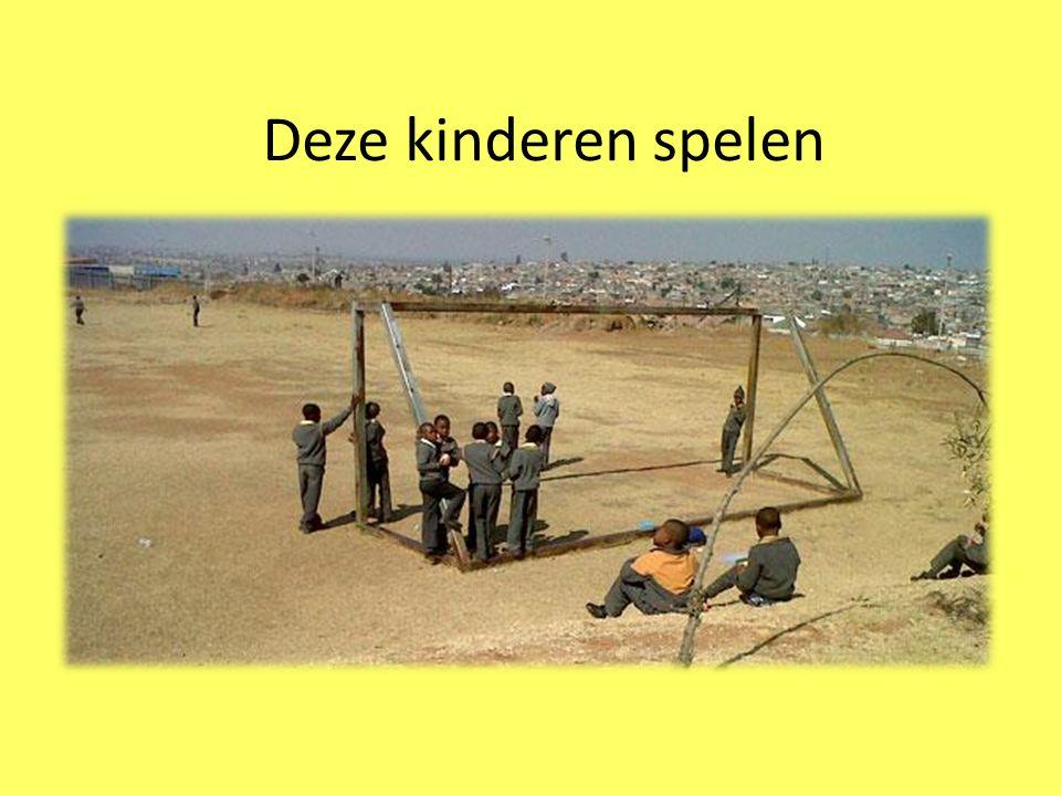 Deze kinderen spelen