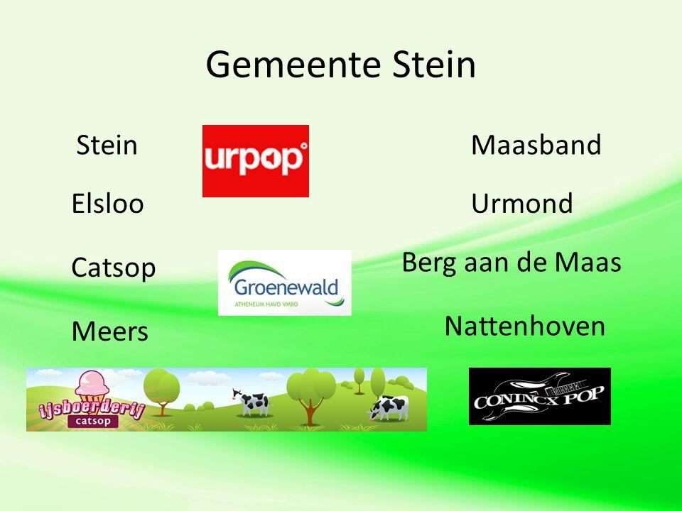 Gemeente Stein Stein Elsloo Catsop Meers Maasband Urmond Berg aan de Maas Nattenhoven