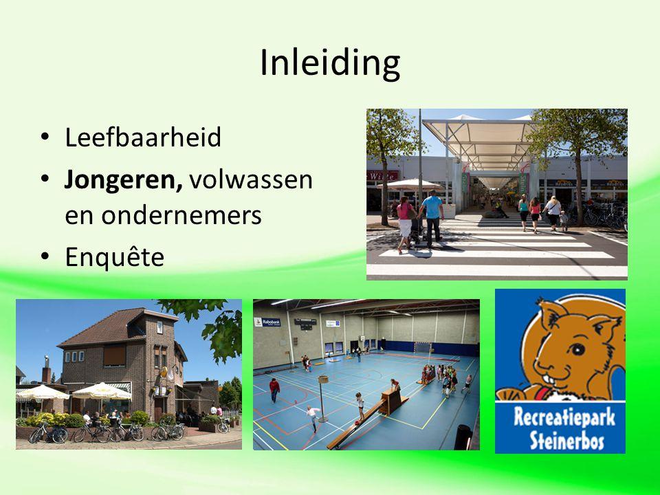 De stellingen Er moet meer geld aan het nieuwe winkelcentrum worden besteed dan aan Steinerbos.