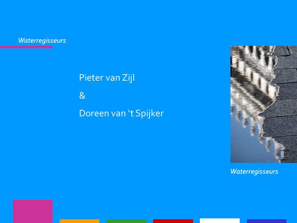 Waterregisseurs Pieter van Zijl & Doreen van 't Spijker Waterregisseurs