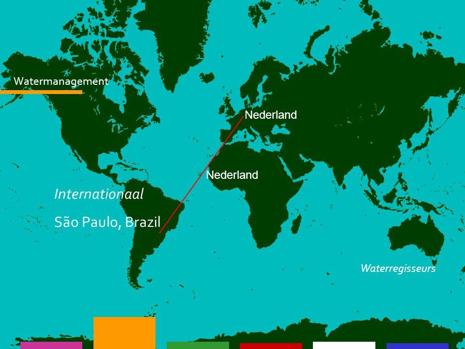 Nederland Watermanagement Nederland Management Onderzoek Communicatie Waterproducten: Waterplannen Afvalwater Grondwater Waterregisseurs