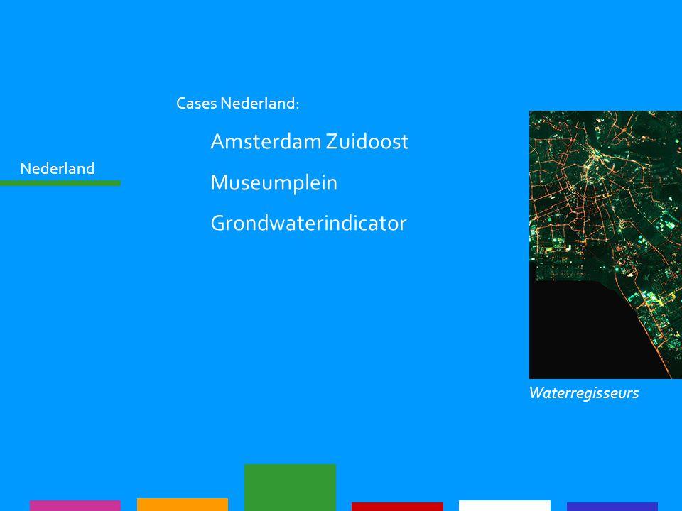 Nederland Cases Nederland: Amsterdam Zuidoost Museumplein Grondwaterindicator Waterregisseurs