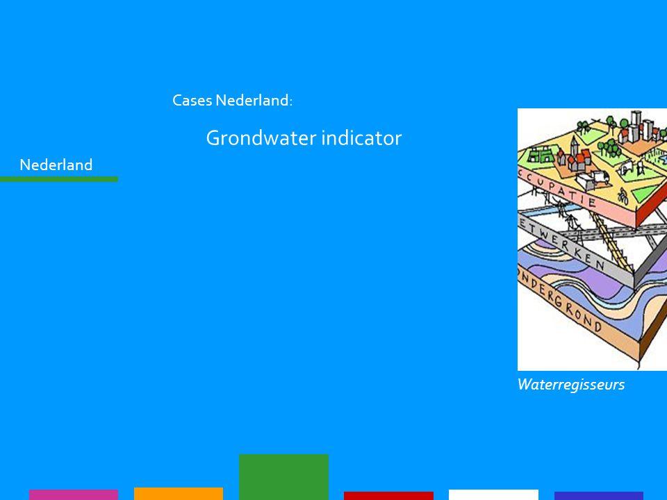 Nederland Cases Nederland: Grondwater indicator Waterregisseurs