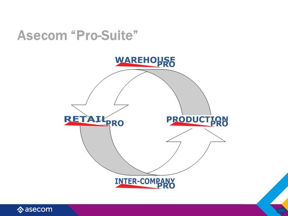 Wat is WarehousePro WarehousePro is:  SAP Business One AddOn  Voor automatiseren van logistiek proces in Business One  Voor MKB bedrijven met een intensieve logistiek  Ondersteuning van barcodes en etiketten printen  Beschikbaar met en/of zonder RF scanning  AddOn Only  AddOn + RF