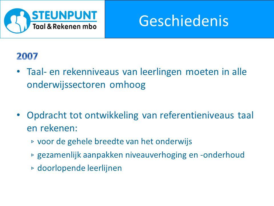 Activiteiten Steunpunt Netwerken rekenen – Regionale bijeenkomsten, 3x per jaar Projecten – Volgens Bartjens – ffRekenen -> www.ffrekenen.nlwww.ffrekenen.nl – Dyslexie en dyscalculie – Project (Begrijpend) lezen, woordenschat en rekenen in het mbo – Drieslag rekenen – Aanbodoverzicht -> www.aanbodoverzichttaalenrekenen.nlwww.aanbodoverzichttaalenrekenen.nl – Portaal taal en rekenen -> www.taalenrekenen.kennisnet.nlwww.taalenrekenen.kennisnet.nl