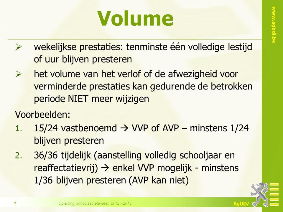 www.agodi.be AgODi VVP - AVP VVP S/FVVP 50 j of 2 kinderen < 14 j AVP PAAVP 50 j of 2 kinderen <14 j.