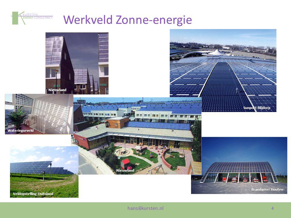 Werkveld Zonne-energie 4 Sunport Blijdorp Brandweer Houten Veldopstelling Duitsland Nieuwland Nieuwland Wateringseveld hans@kursten.nl