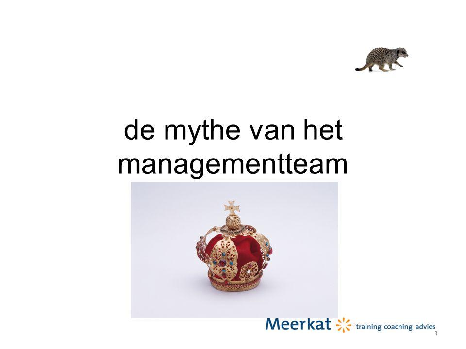 de mythe van het managementteam 21