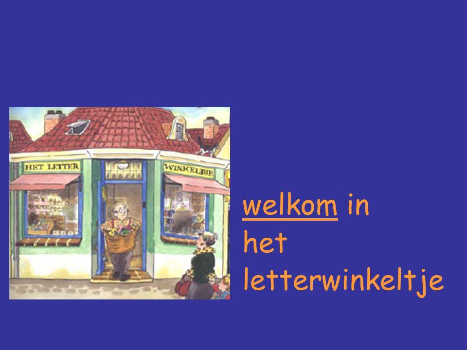 welkom in het letterwinkeltje