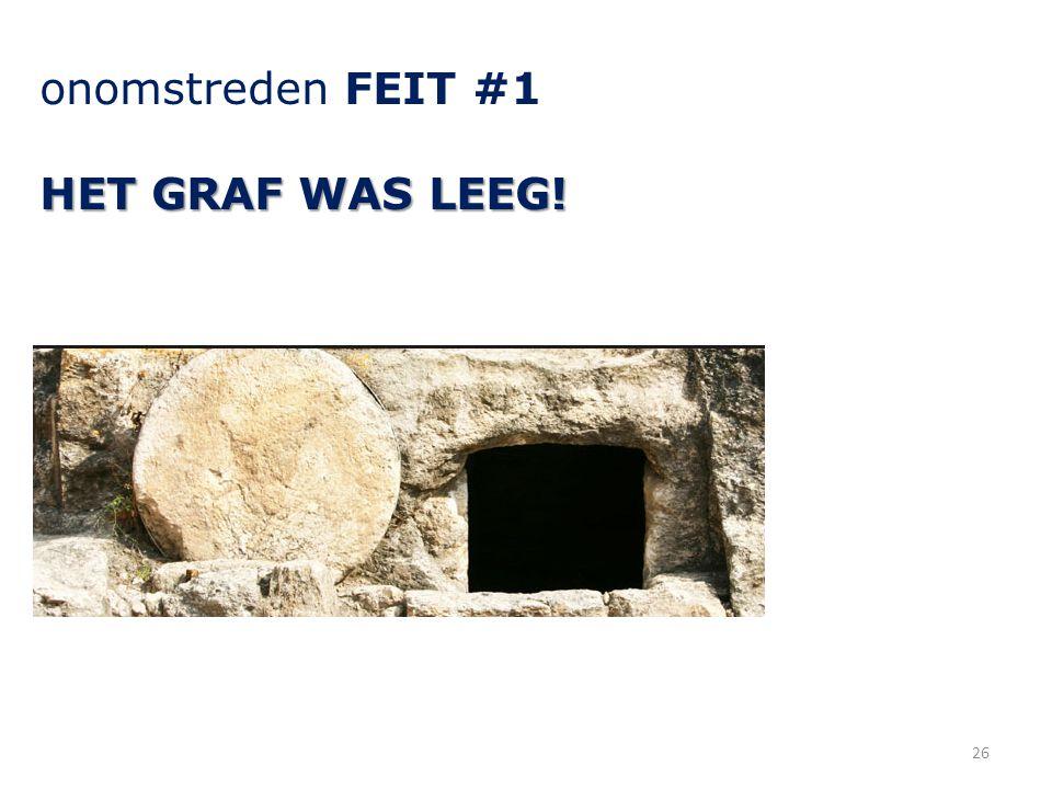 onomstreden FEIT #1 HET GRAF WAS LEEG! 26