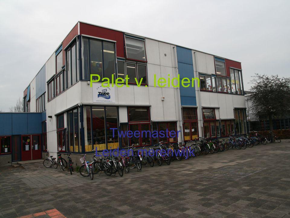 Palet v. leiden Tweemaster Leiden merenwijk