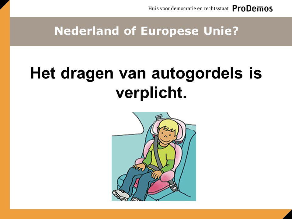 Hoeveel inwoners heeft de Europese Unie? Benaderingsvraag Nederland of Europese Unie?