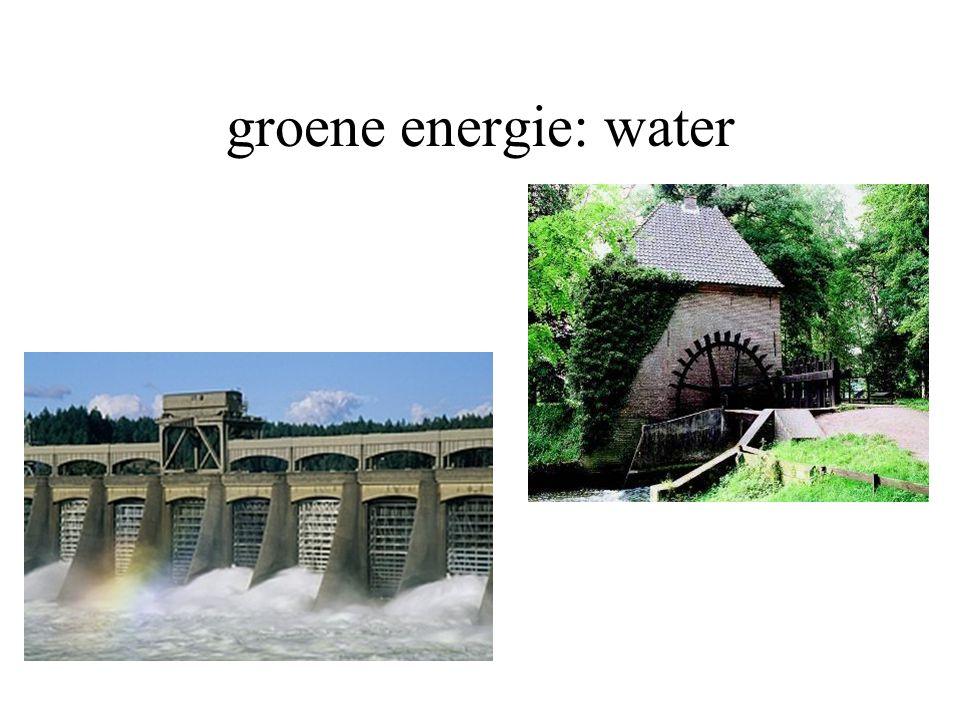groene energie: water