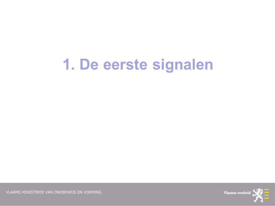 1. De eerste signalen