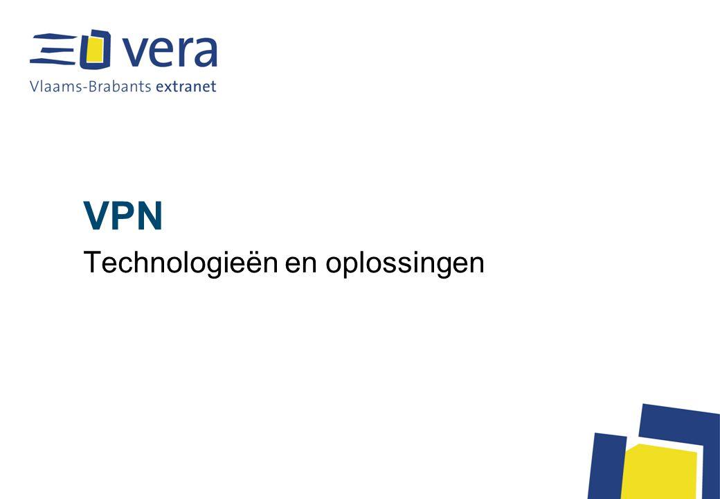 VPN Technologieën en oplossingen