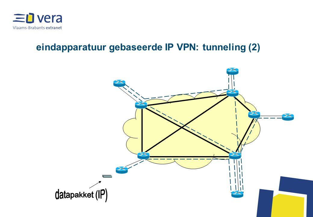 eindapparatuur gebaseerde IP VPN: tunneling (2)
