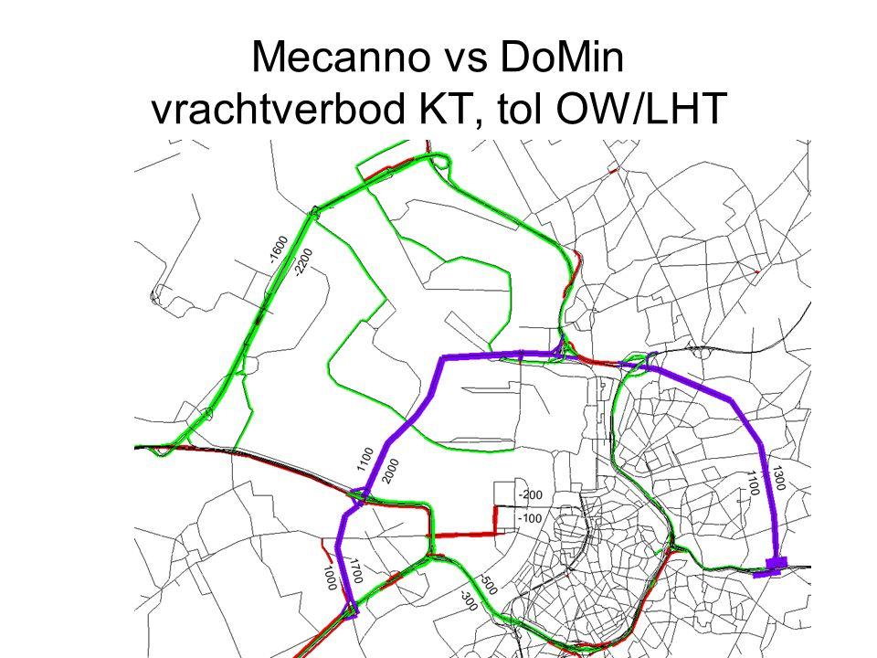 Mecanno vs DoMin vrachtverbod KT, tol OW/LHT
