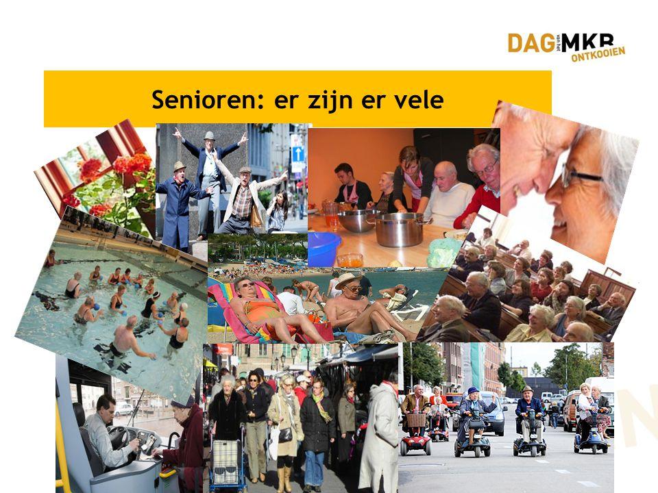 Senioren: er zijn er vele