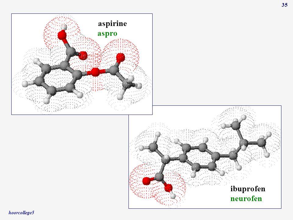 hoorcollege5 35 ibuprofen aspirine neurofen aspro