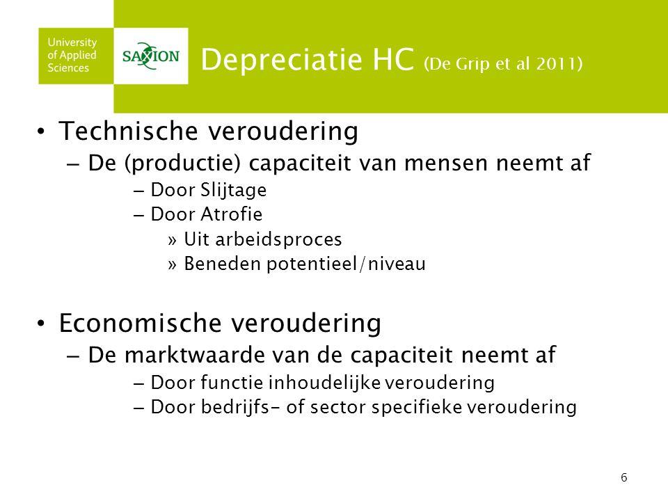 7 Economische Depreciatie 1.