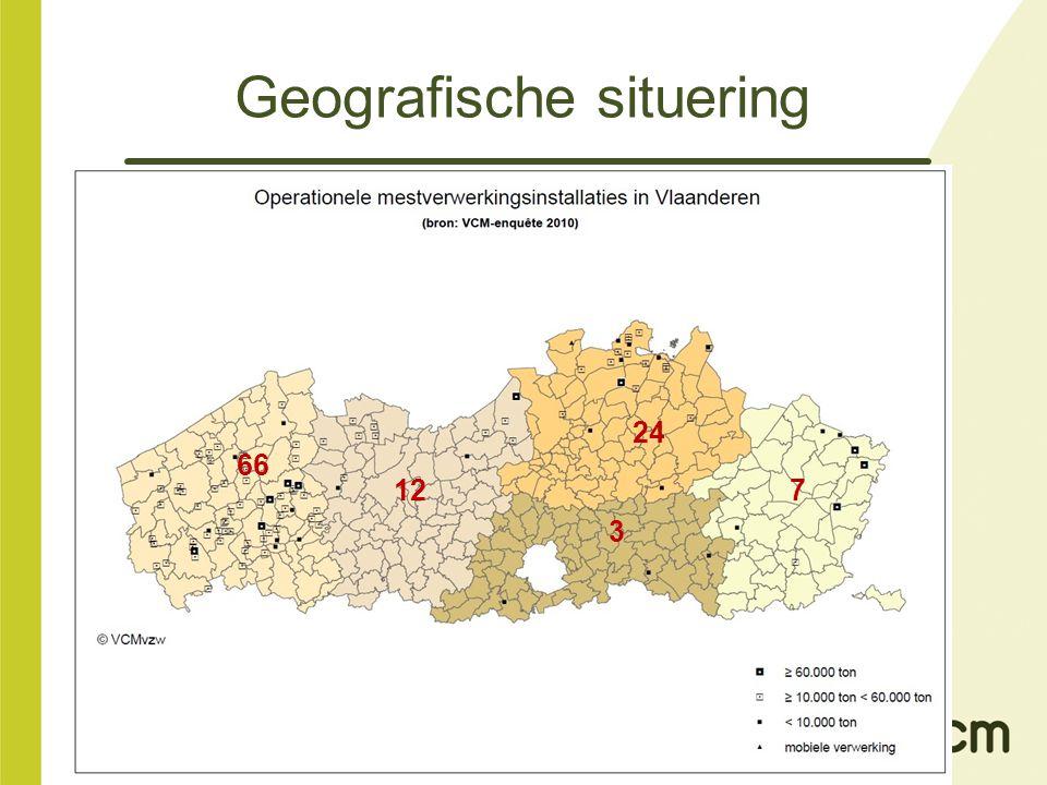 Geografische situering 66 12 24 3 7