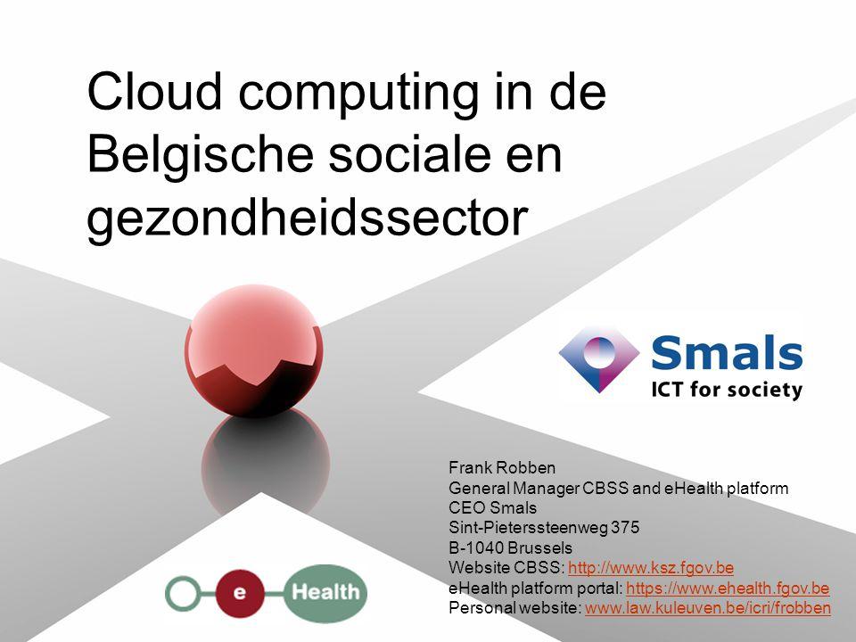 2 23 juni 2011 Wat zien wij als de kern van cloud computing.