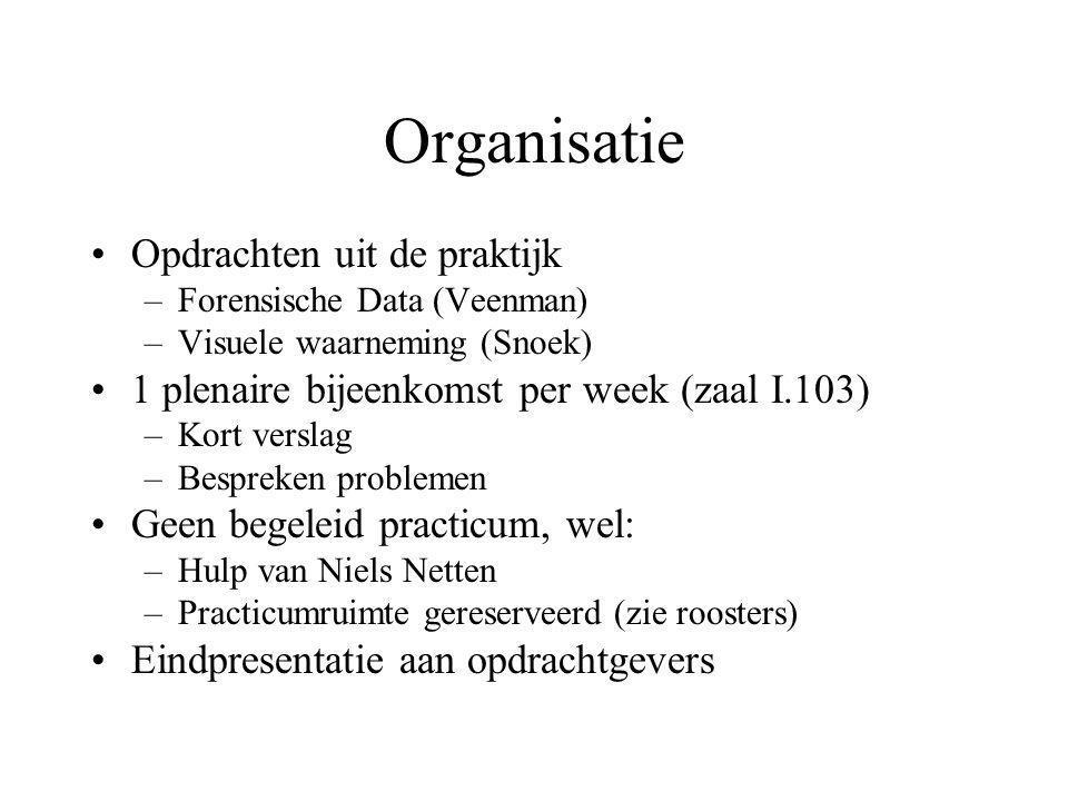 NB: Contrast met Leren (accent theorie / praktijk); meer praktijkkennis nodig Moeilijke / vage problemen; niet duidelijk of het wel kan
