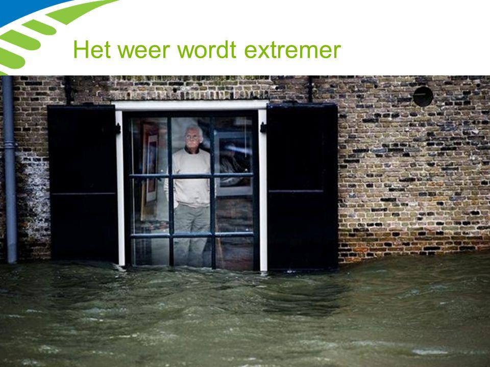 Het weer wordt extremer