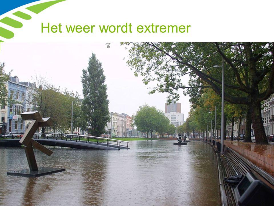 Waterveiligheid Rotterdam beschermen tegen overstromingen, waarbij alle waterkeringen, dus ook de regionale keringen, uiterlijk in 2020 voldoen aan de huidige normeringen