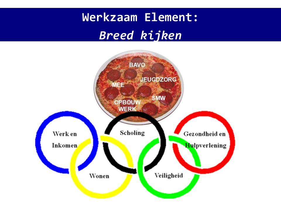Werkzaam Element: Breed kijken