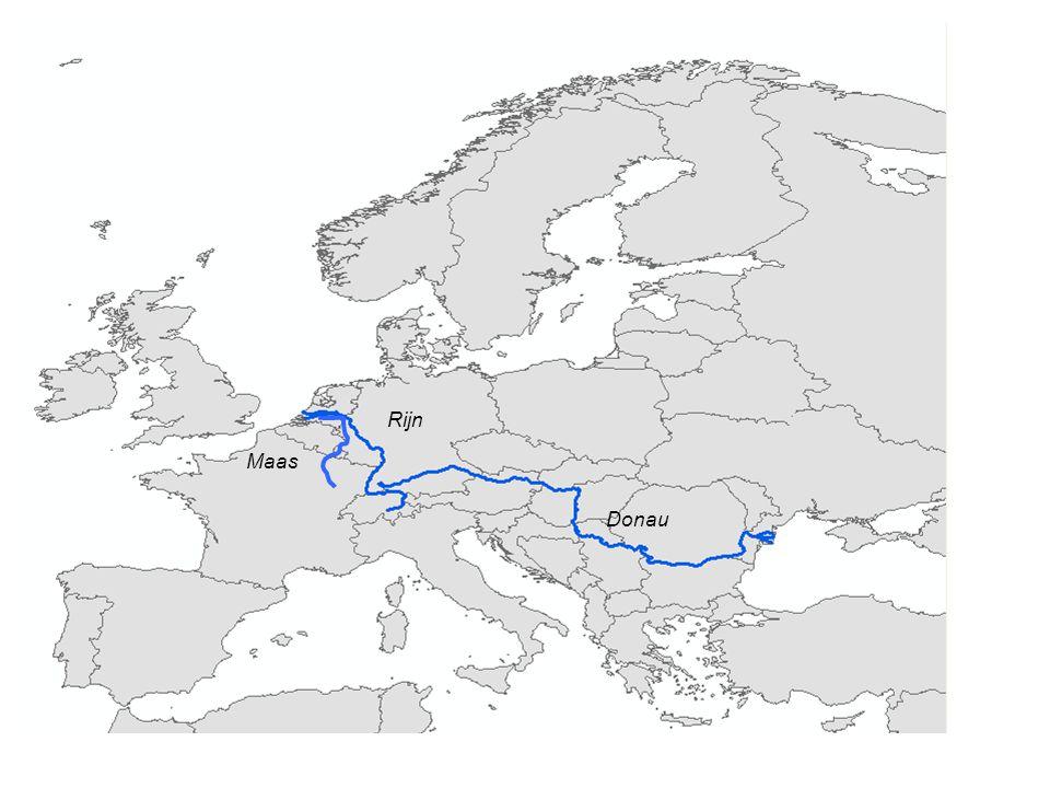 Donau Rijn Maas