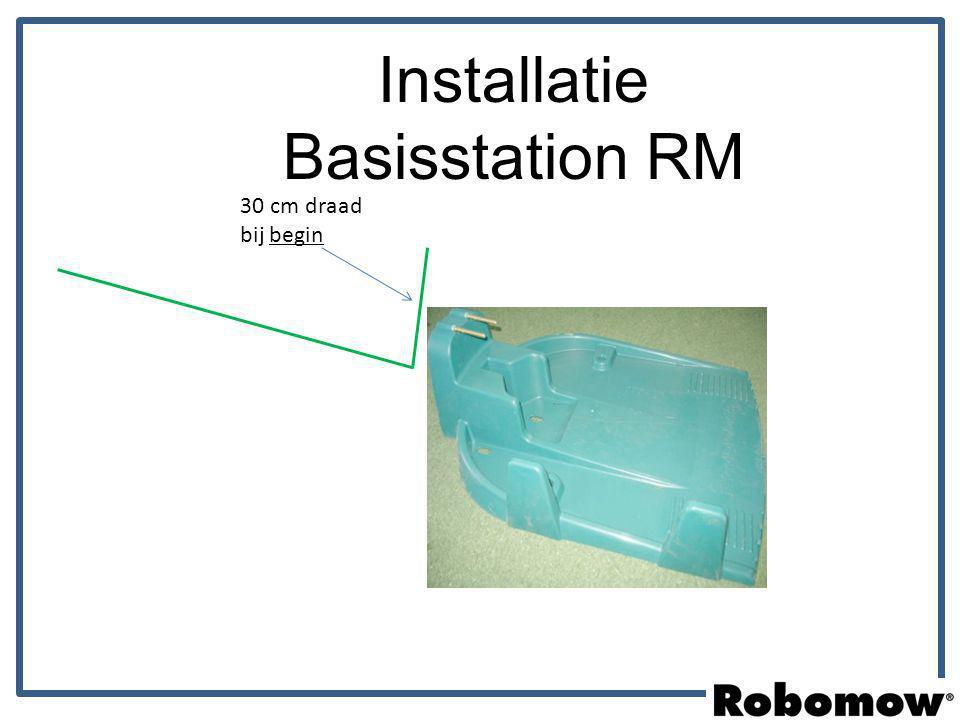 Plaats Basisstation Basis Zone Installatie Opstelling basisstation RM