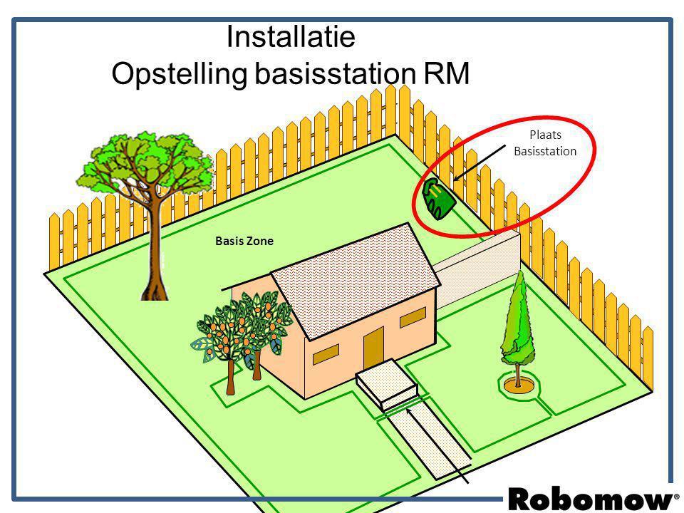 Instellingen Menu (con.) Regen sensor - Geeft de mogelijkheid om regen te detecteren en op basis hiervan het maaiprogramma aan te passen.