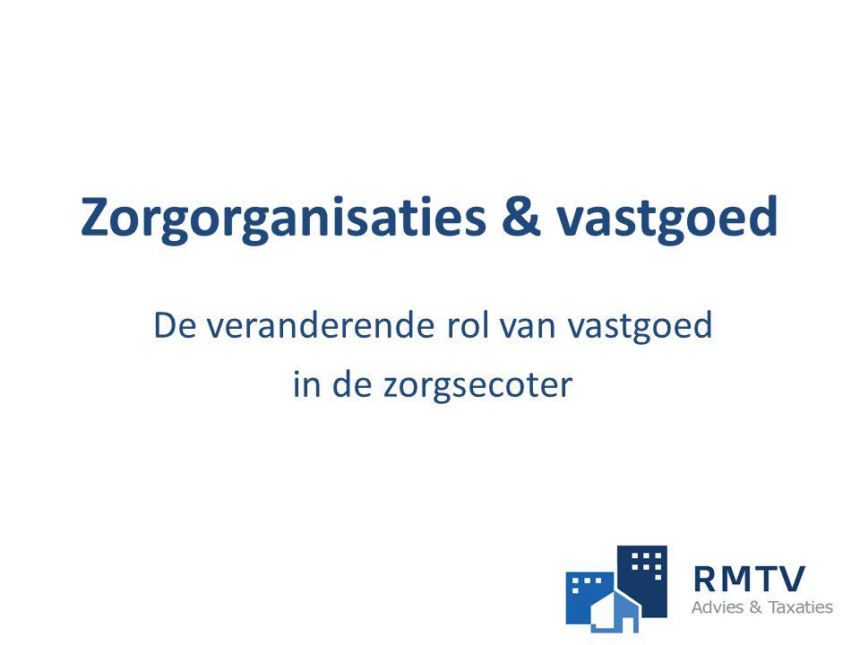 Zorgorganisaties & vastgoed De veranderende rol van vastgoed in de zorgsecoter