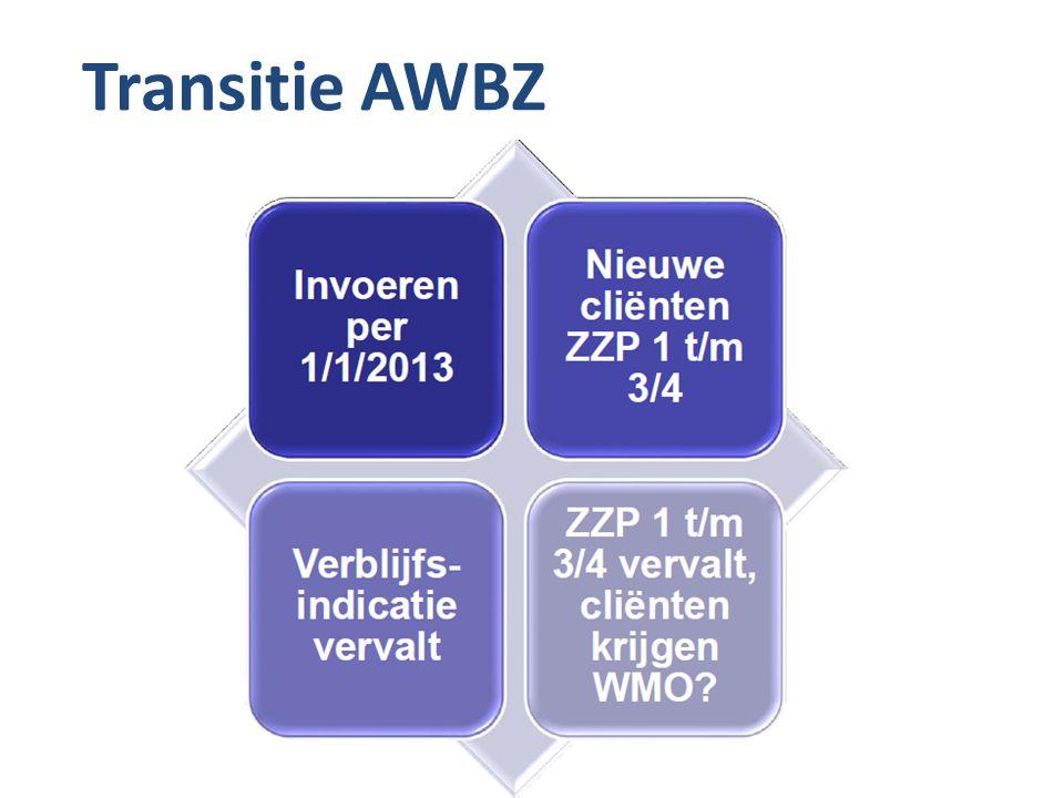 Transitie AWBZ