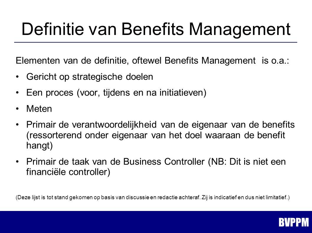 Benefits Management - (Best) Practices Rob Bouwmeester Roland Arts