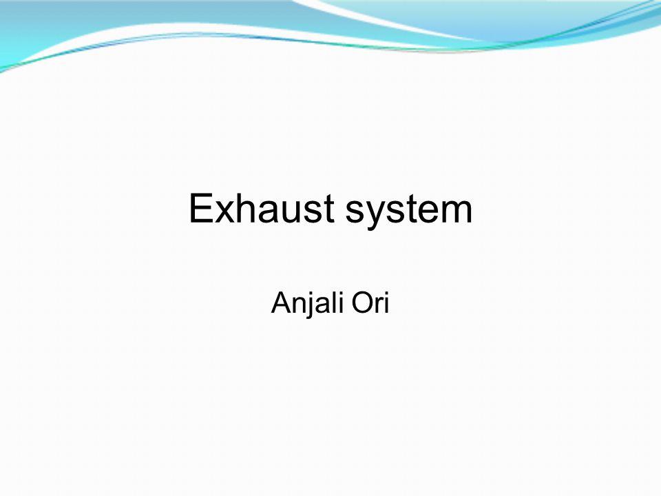 Exhaust system Anjali Ori