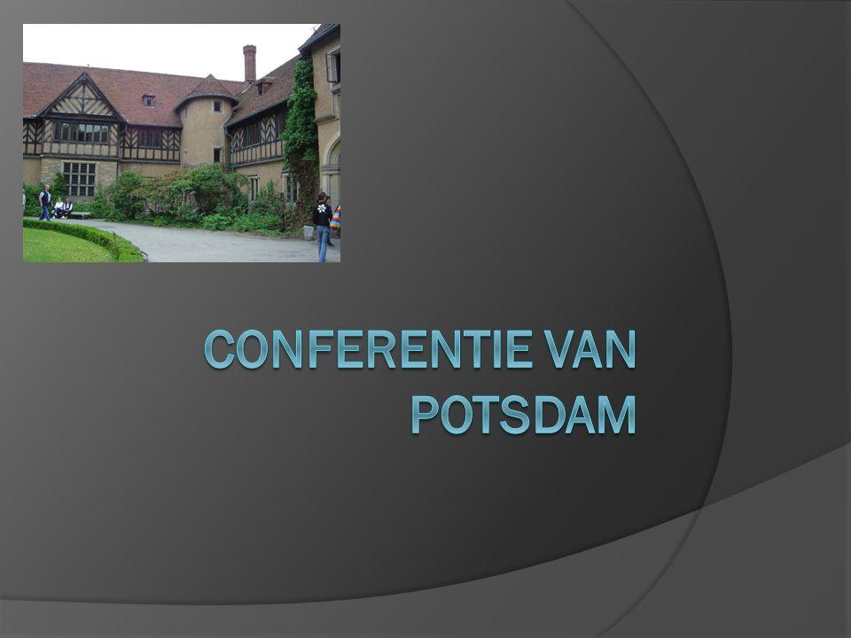 Conferentie van Potsdam  Waar.