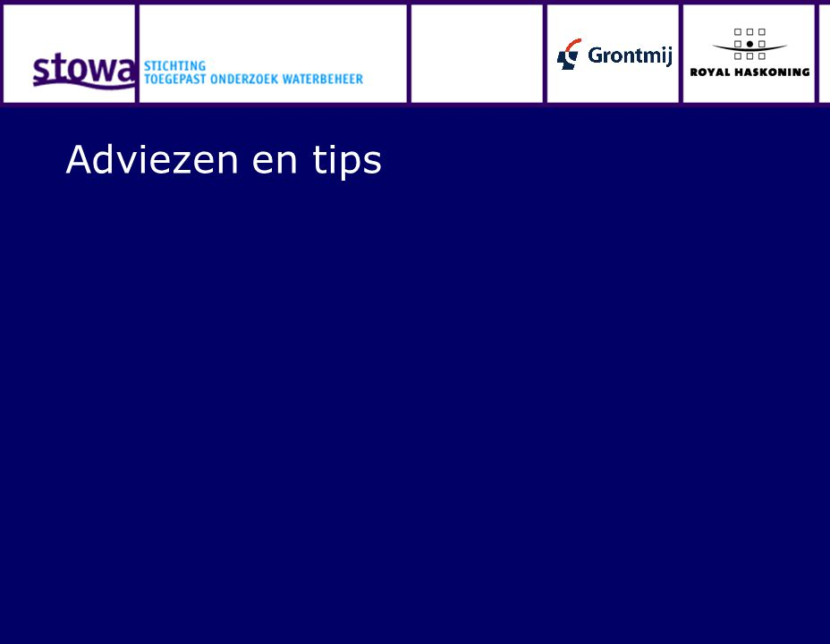 Adviezen en tips