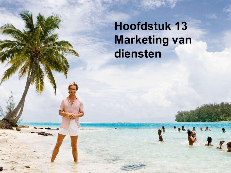Hoofdstuk 13 Marketing van diensten