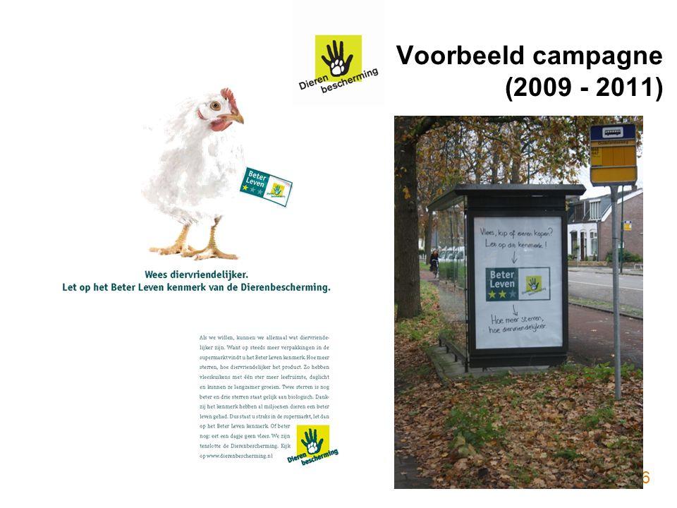 Voorbeeld campagne (2009 - 2011) 16
