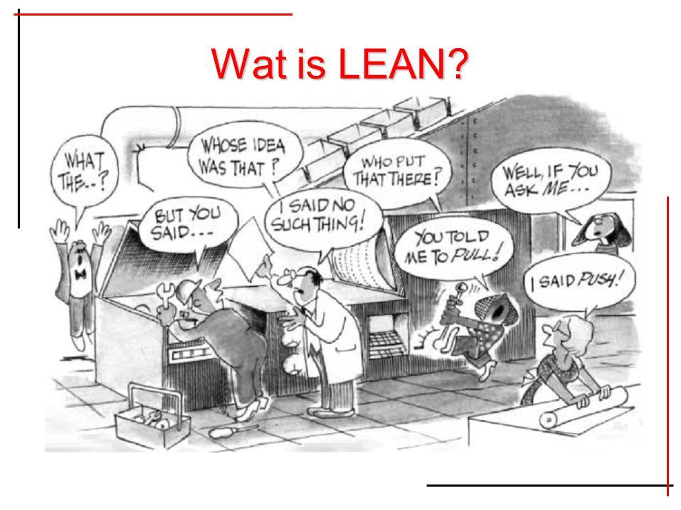 Wat is LEAN?