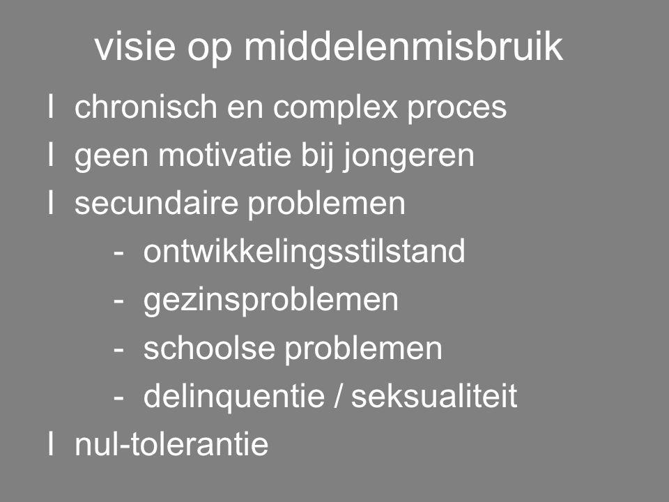 implementatie visie I teamdenken I organisatie I structuur I leefgroepwerk en therapieën I dagelijkse handelen werkvloer I contact met context