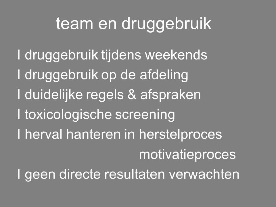 team & jongeren I therapeutisch en orthopedagogisch I positieve aanwezigheid bij jongeren I gewogen & therapeutische relatie l afbakening verantwoorde