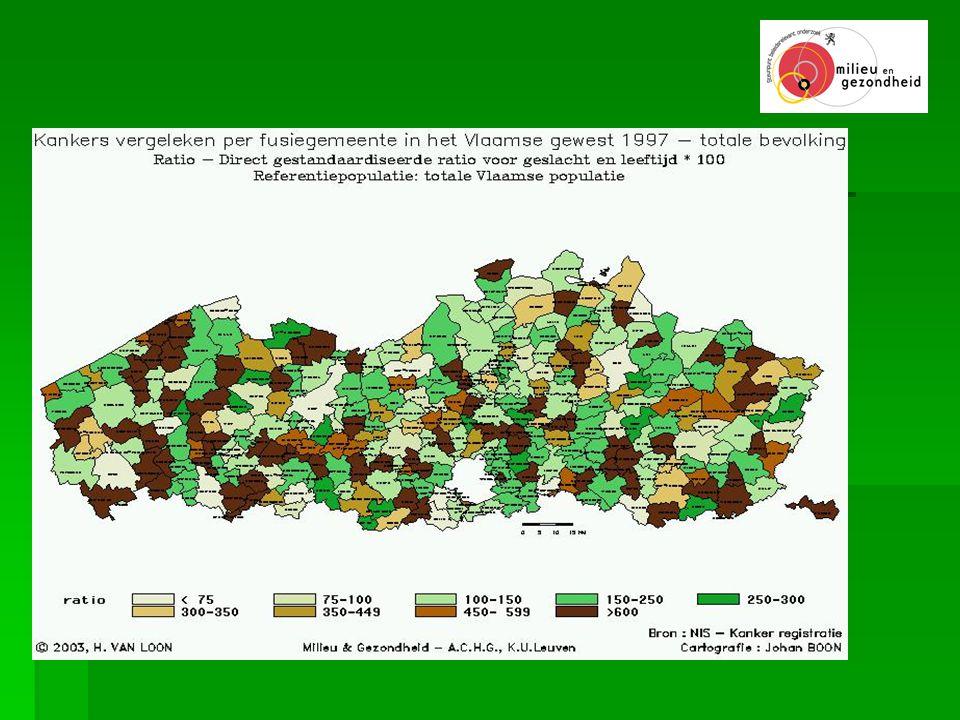 Ontwikkeling van kernlijst aan milieu- en gezondheidsindicatoren voor Vlaanderen  i.s.m.