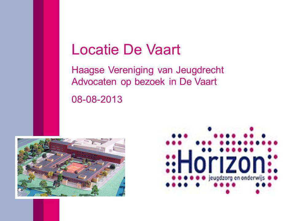 Locatie De Vaart Haagse Vereniging van Jeugdrecht Advocaten op bezoek in De Vaart 08-08-2013