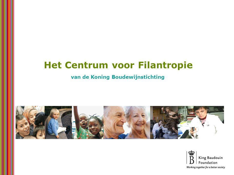 Het Centrum voor Filantropie van de Koning Boudewijnstichting