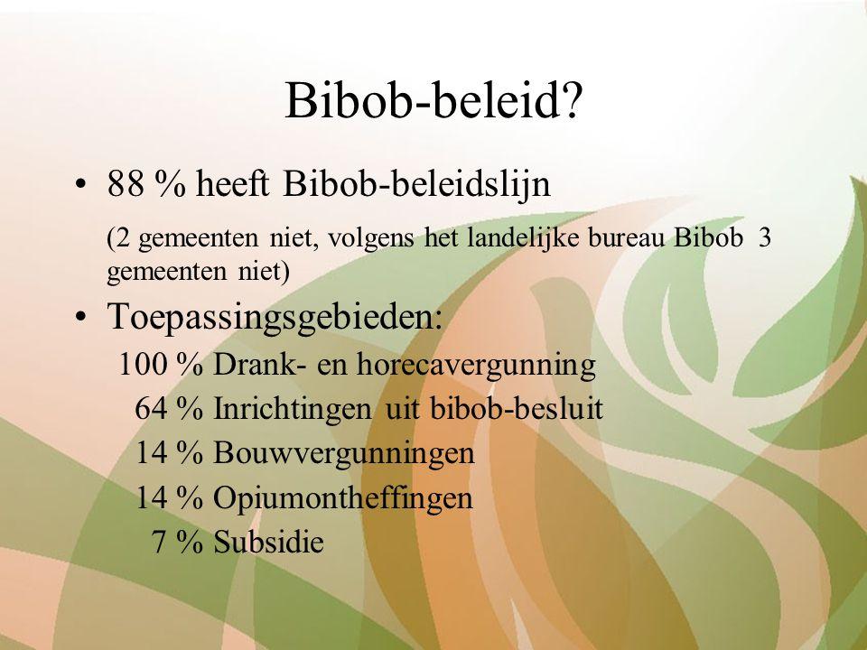 Bibob-beleid.