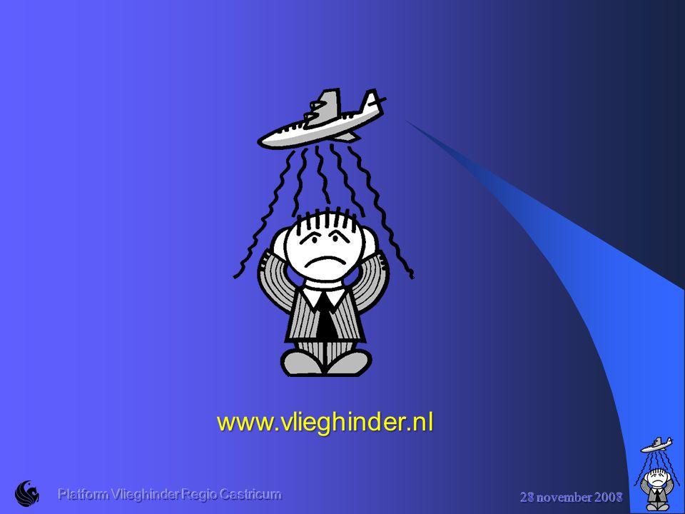 27 november 2008 Platform Vlieghinder Regio Castricum www.vlieghinder.nl