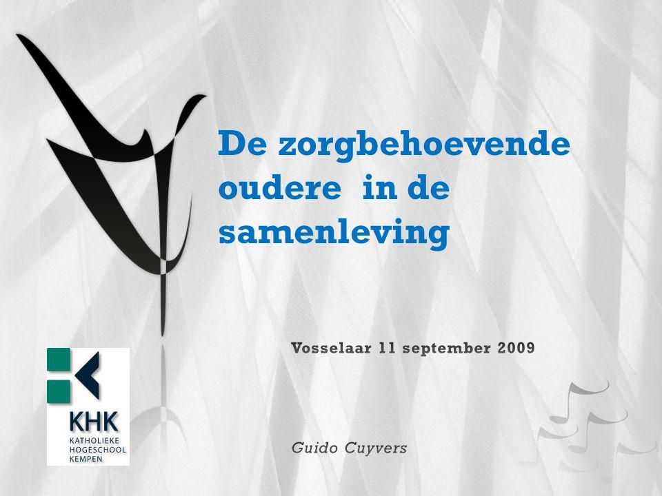 Inleiding: Zorgverlening in Vlaanderen